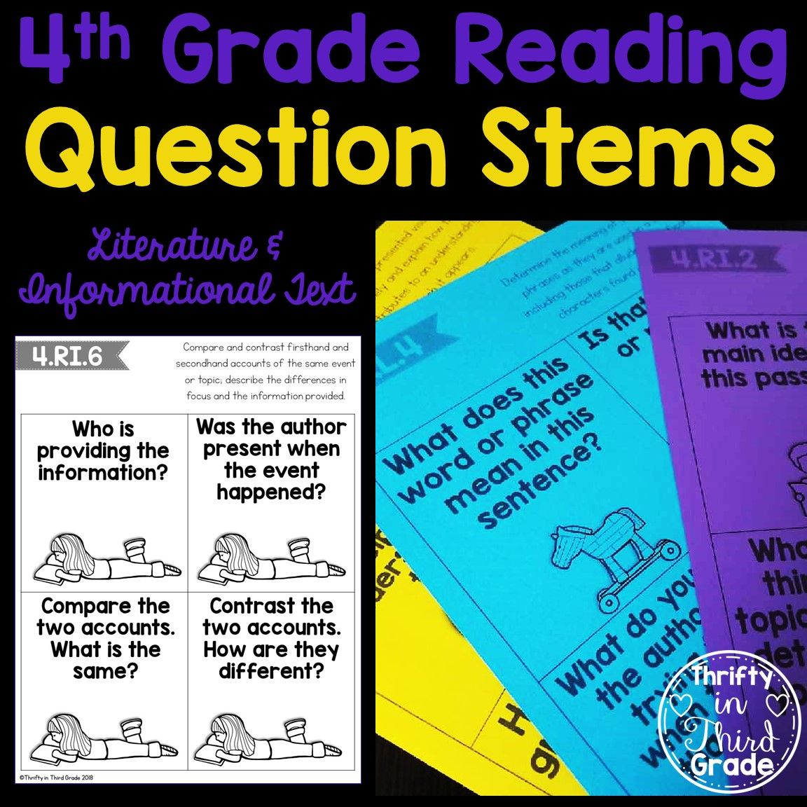 Using Reading Question Stems