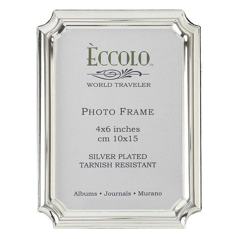 World Traveler Silverplate Baroque Frame, Silver | Products