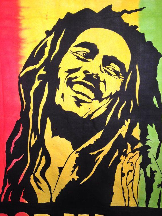 Wall Bed Decor Free Shipping In Usa Superior By Thebilvatree 34 99 Bob Marley Tapestry Bob Marley Art Wall Bed Decor