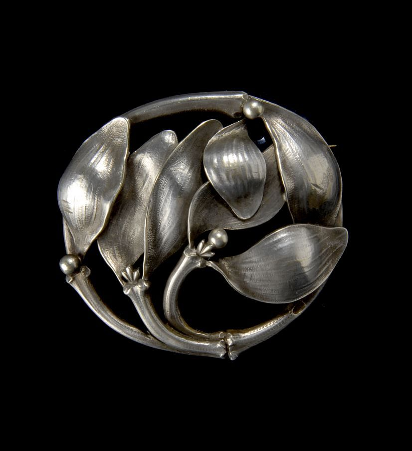 Georg Adam Scheid, Vienna. Silver Belt Buckle, 1900.
