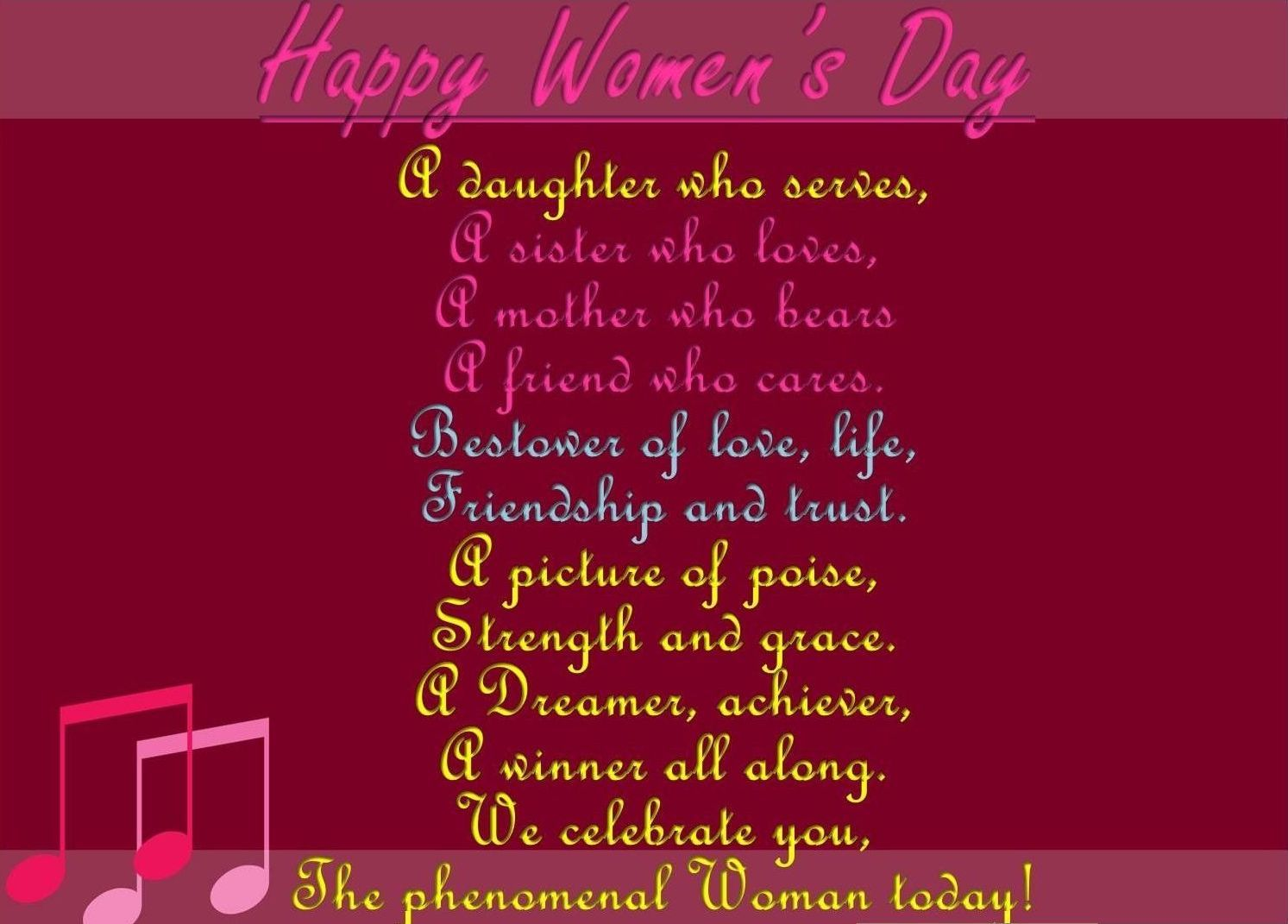 Women's Day Quotes Mesmerizing Happy Women's Day  2015 Quotes And Feminism Inspiration