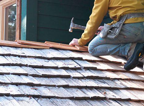 Roof Repair How To Fix Leaks And Broken Shingles Roof Repair