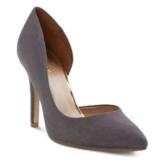 902f272a6a3 women's shoes : Target | clothes | Shoes, Heels, Grey pumps