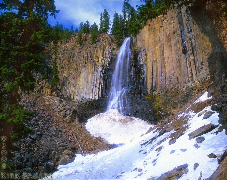 Palisades Falls At Hyalite Canyon Near Where My Family Lives Outside Of Bozeman MT So Beautiful And Accessible