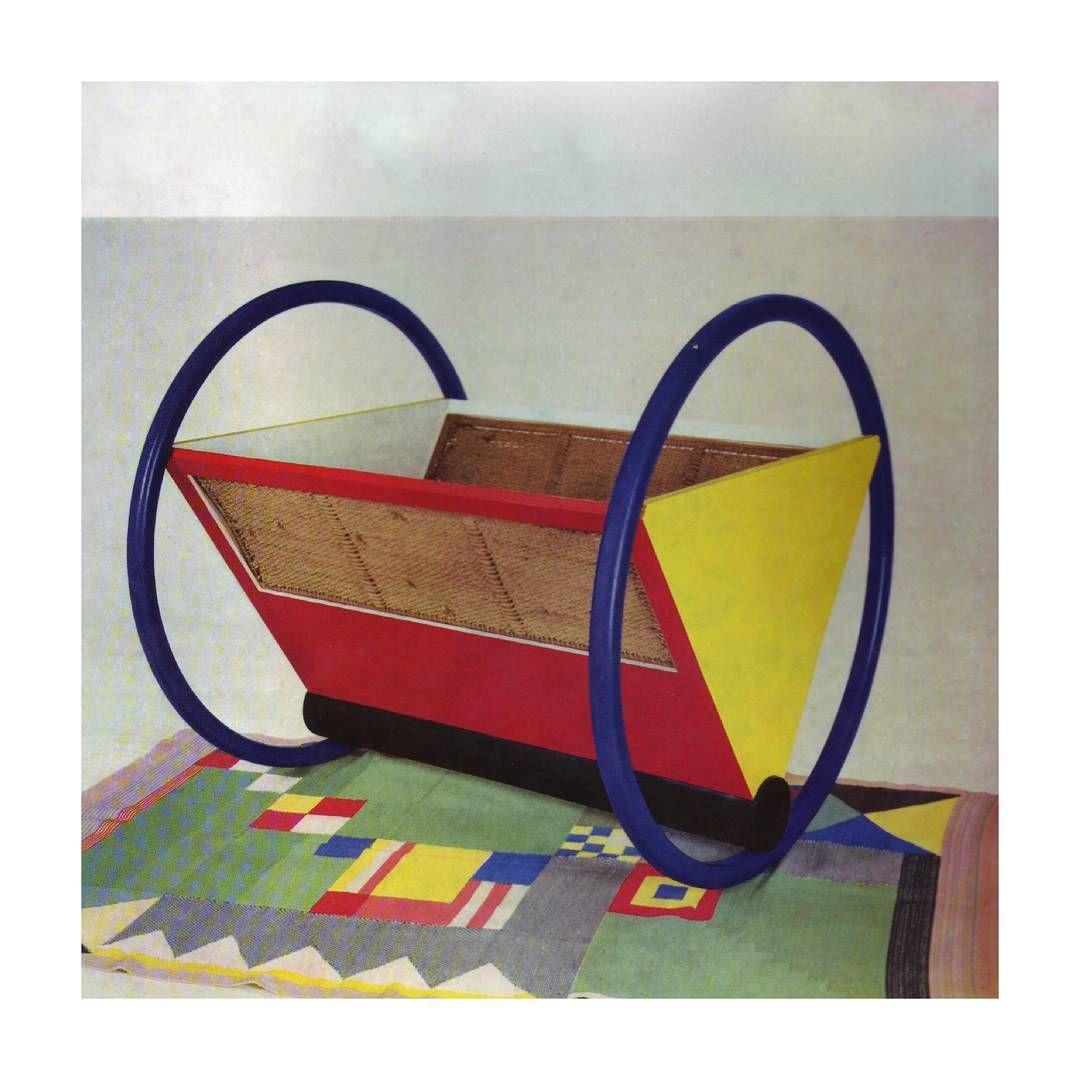 Designtel On Instagram Bauhaus Cradle Peter Keler Bauhaus Bauhaus Design Soft Furnishings