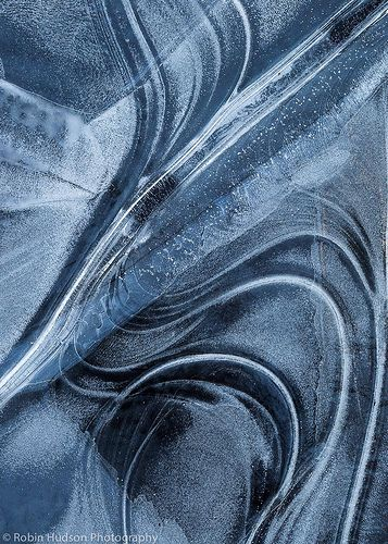 Blue | Blau | Bleu | Azul | Blå | Azul | 蓝色 | Color | Form | Texture | Blue Ice Swirls by natureoflight