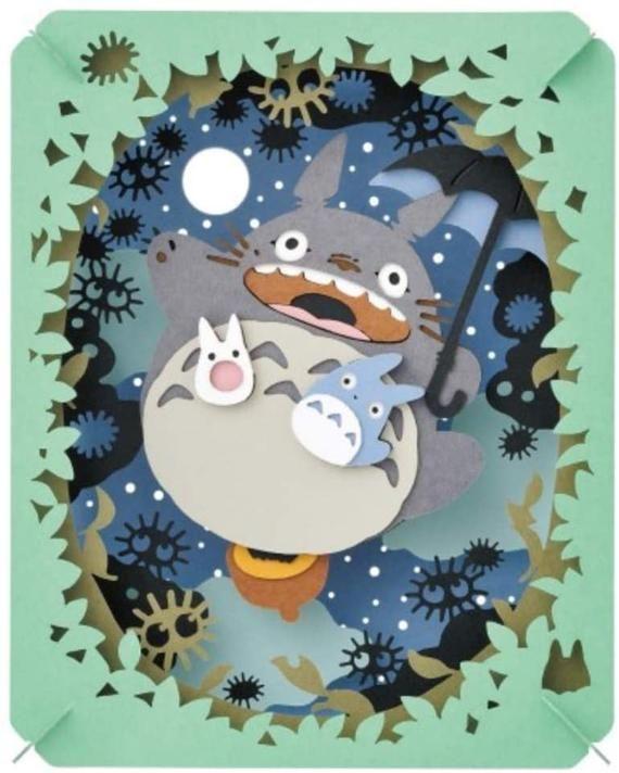 ENSKY Ghibli My Neighbor Totoro The Moonlit Sky Paper Theater - gift Ghibli