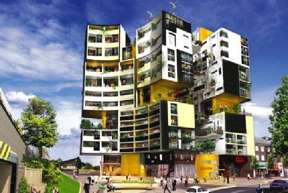Apartment Complex Design Ideas Building Minimalist