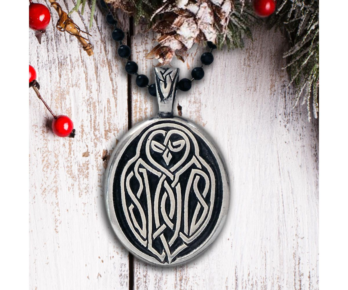 Celtic owl necklace your wisdom will guide you true celtic celtic owl necklace your wisdom will guide you true celtic knot owl pendant celtic owl pendant viking necklace buycottarizona