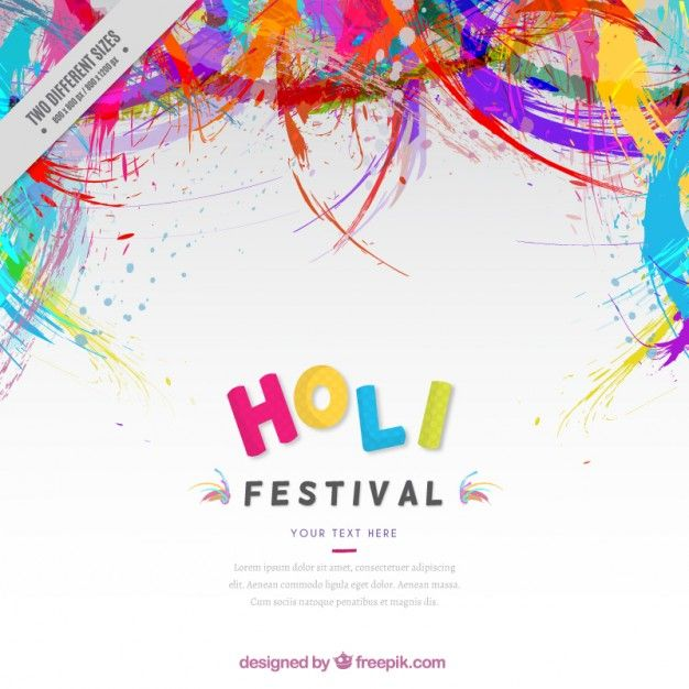 Download Colors Abstract Holi Festival Background For Free