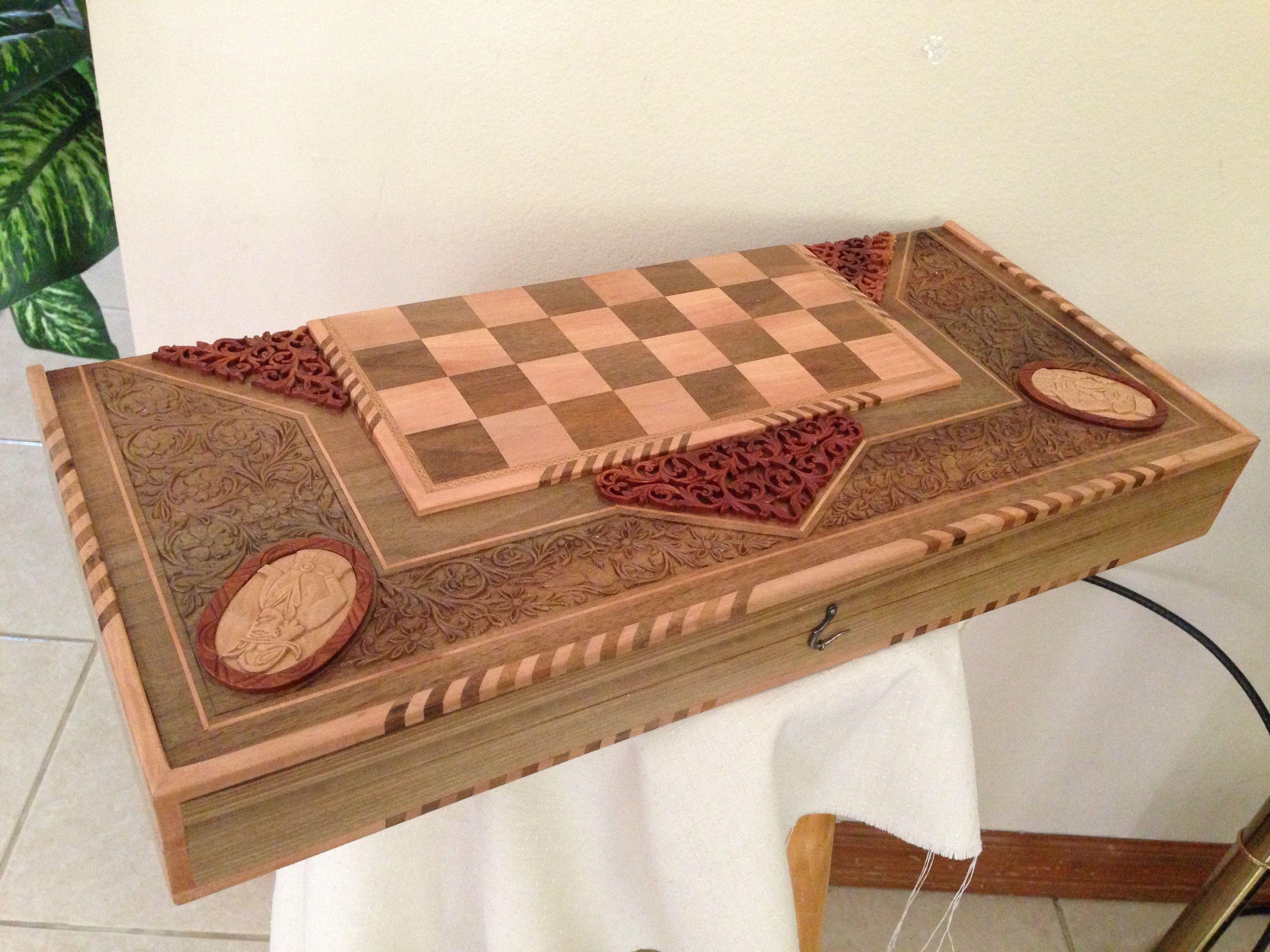 Persian Woodcarving