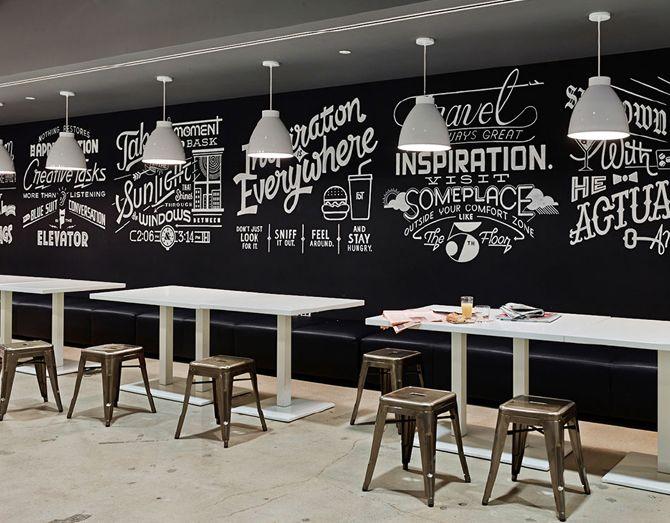 Bryan Haker Communicative Design Cafe Decor Cafe Wall Art