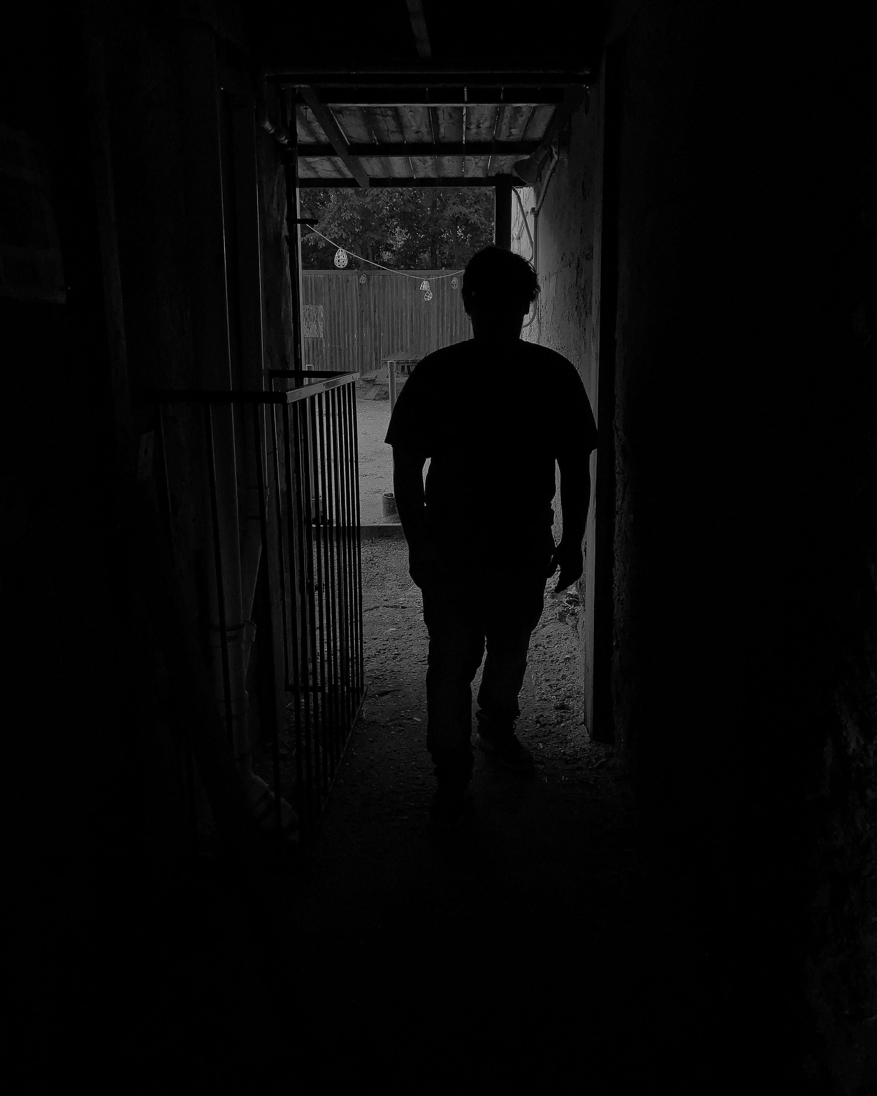 Man Figure Male Figure Shadow Photo Editing
