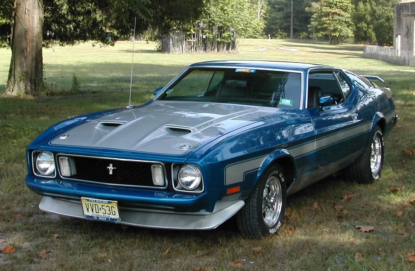 Ford Mustang Mach 1 1973 Carros, Auto