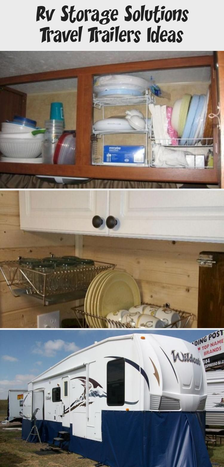 Rv Storage Solutions Travel Trailers Ideas Decorations In 2020 Rv Storage Solutions Rv Storage Storage Solutions