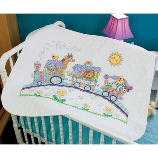 Dimensions Baby Express St&ed Cross Stitch Quilt Kit ... : cross stitch quilt kits - Adamdwight.com