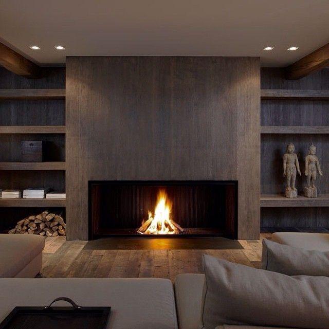 adesignersmindu0027s photo on Instagram Interior Pinterest - chimeneas interiores