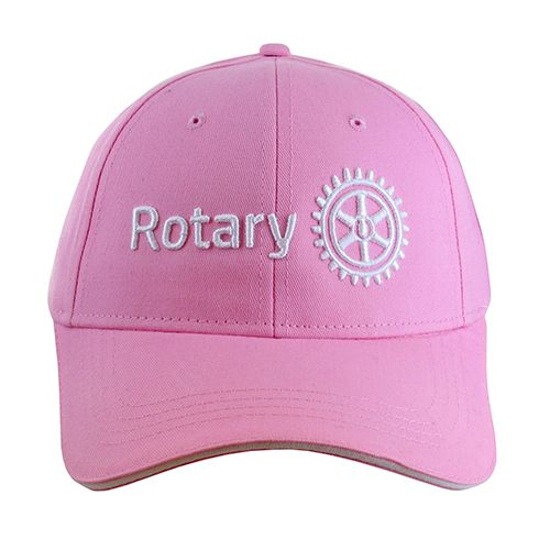 9eeebdc2fd2 Russell-Hampton Co. Rotary Club Supplies  Ladies  Pink Cap with 3D  Masterbrand