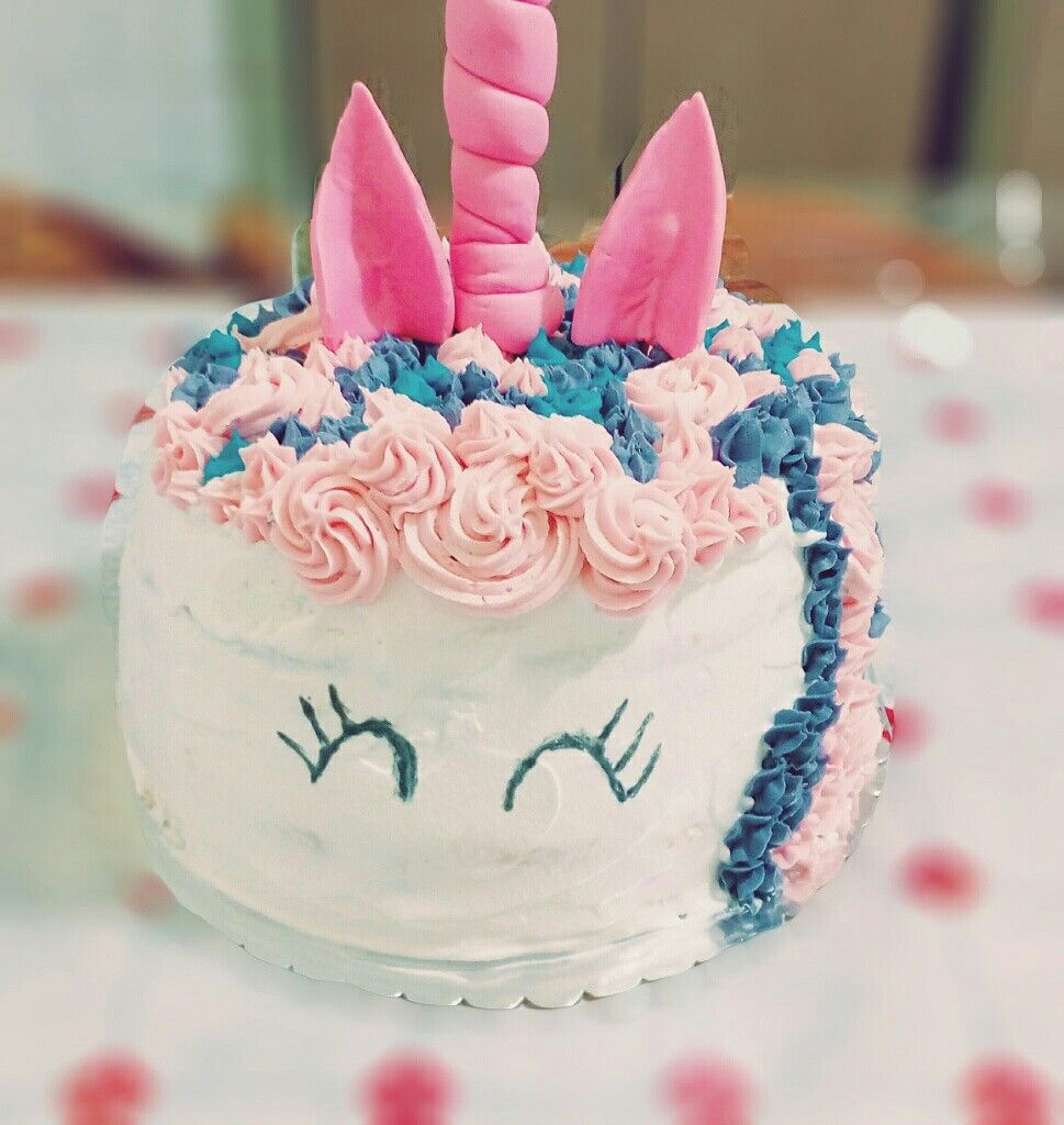 Torta unicorno. Buonissima! Tanta Nutella e Panna