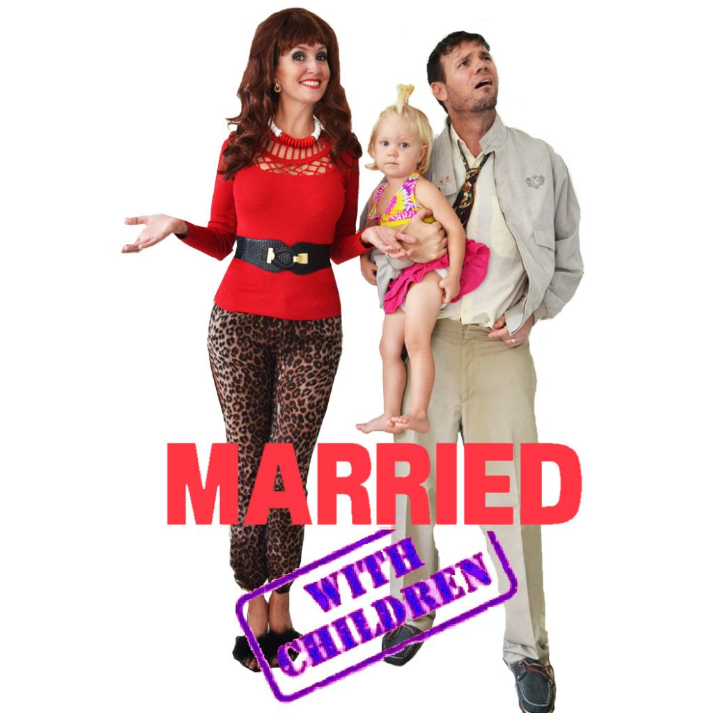 Family Halloween Costume Married with Children Al Bundy Peggy ...