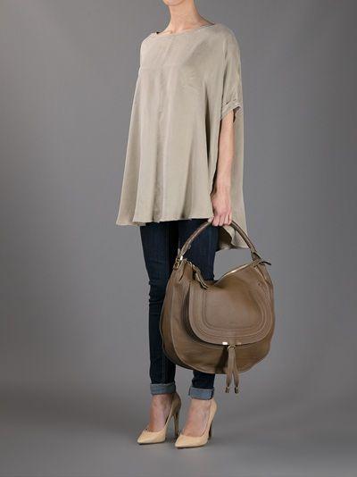 15397e8e9 CHLOÉ - Marcie Hobo large bag 8 | Misc | Bags, Chloe, Fashion