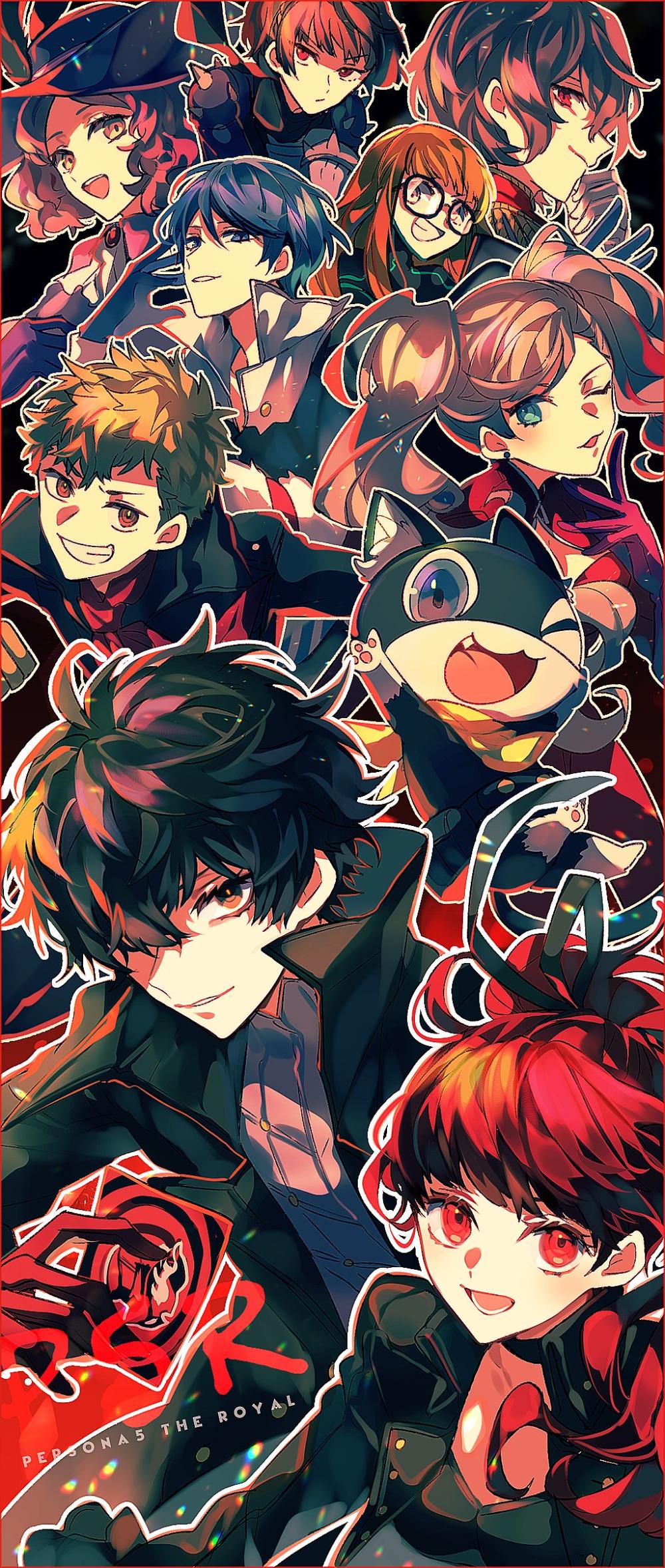 いず地 on Anime, Persona 5, Twitter
