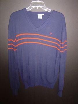 Vintage OP Striped Sweater