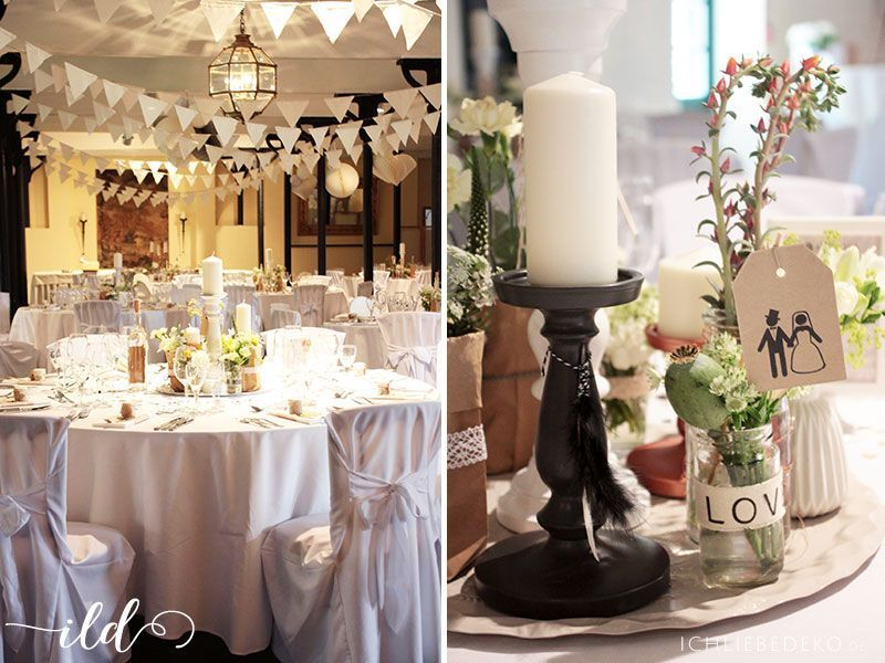 Hochzeitsdeko im vintage stil hochzeitsfeier pinterest hochzeitsdeko vintage stil und feier - Dekoration winterhochzeit ...