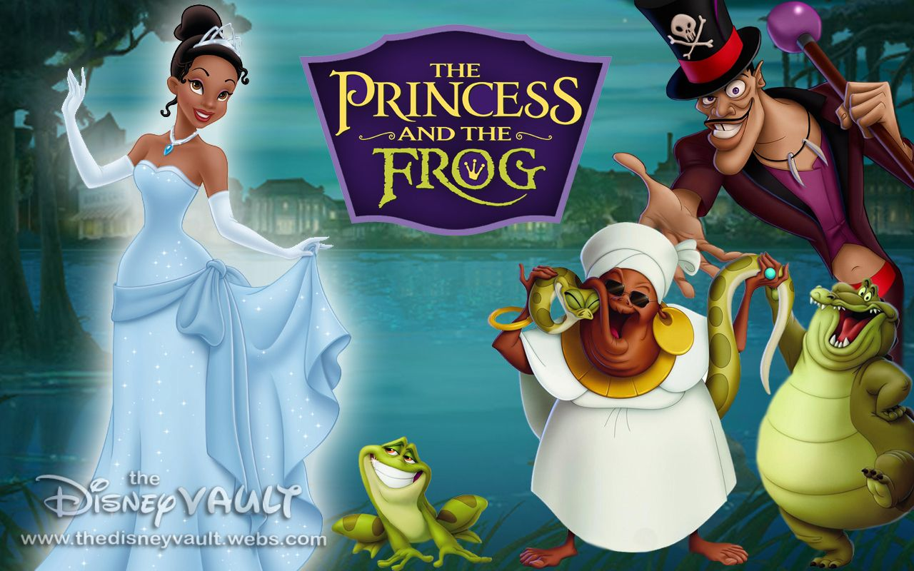 The Disney movie The Princess and the Frog is a