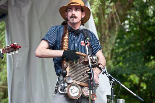 Ryan Koenig From Pokey Lafarge And The South City Three Music Stuff Folk Festival Vancouver