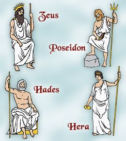 an overview of the greek mythology of the pantheon