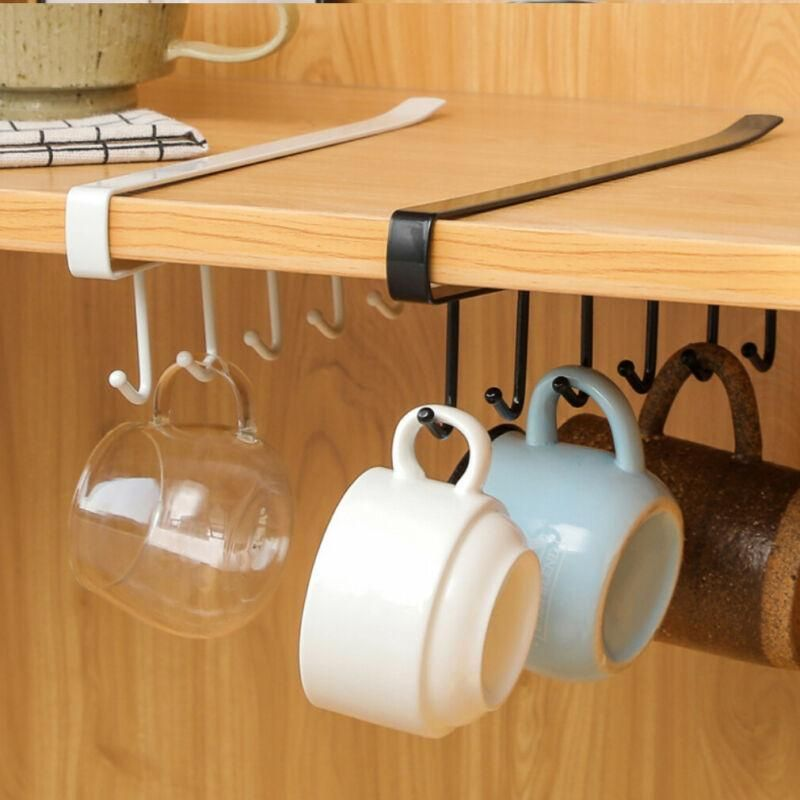 Need more room in your Kitchen?😲Save Tons of Space with The Floating Rack™