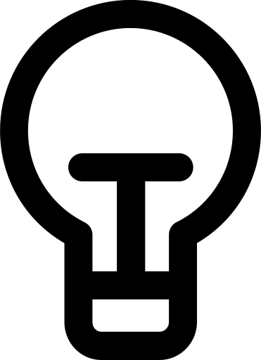 Electricity, idea, lamp, lightbulb, power icon