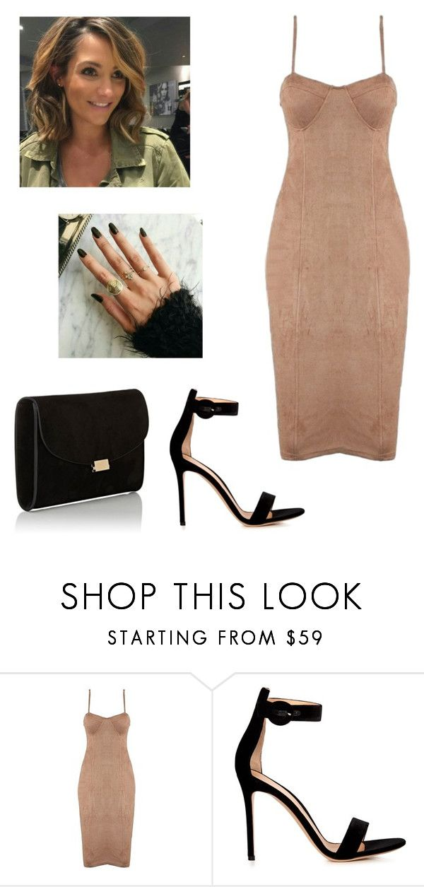 """""""Untitled #2883"""" by outfitstowear ❤ liked on Polyvore featuring Gianvito Rossi and Mansur Gavriel"""