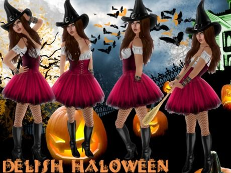 .:: DELISH ::. Halloween Costumes - Witch -01
