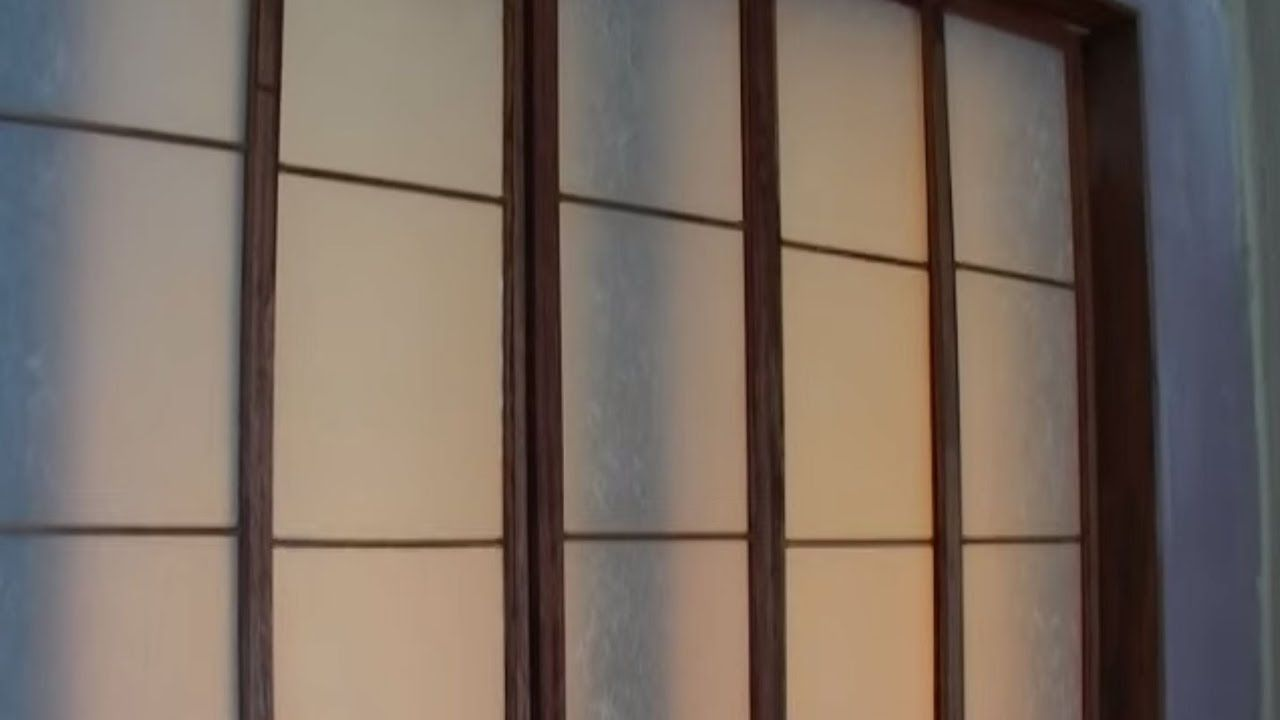 How To Make Japanese Screen Panels Japanese Sliding