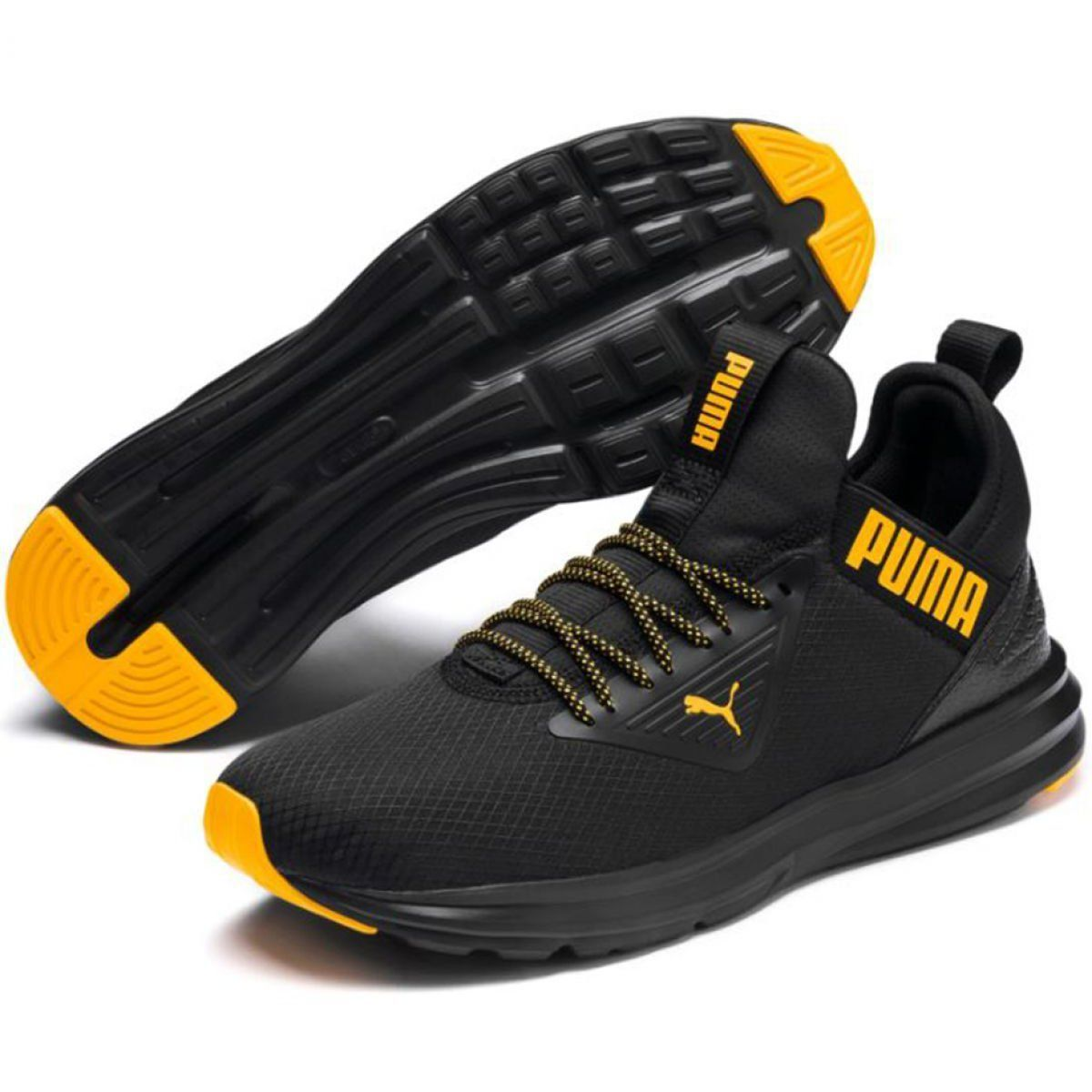 Puma Enzo Beta M 192595 02 Shoes Black Buty Puma Enzo Beta M 192595 02 Czarne Sportowe Men Puma Boots Puma Enzo Training Shoes Shoes Shoes World