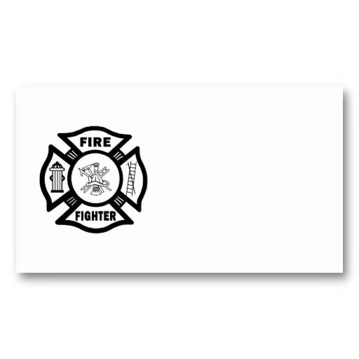 fire fighter maltese fire department business cards pinterest