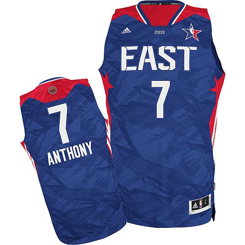 Adidas NBA 7 Carmelo Anthony All Star 2013 Swingman Eastern Conference  Basketball Jersey 3ed2340a7