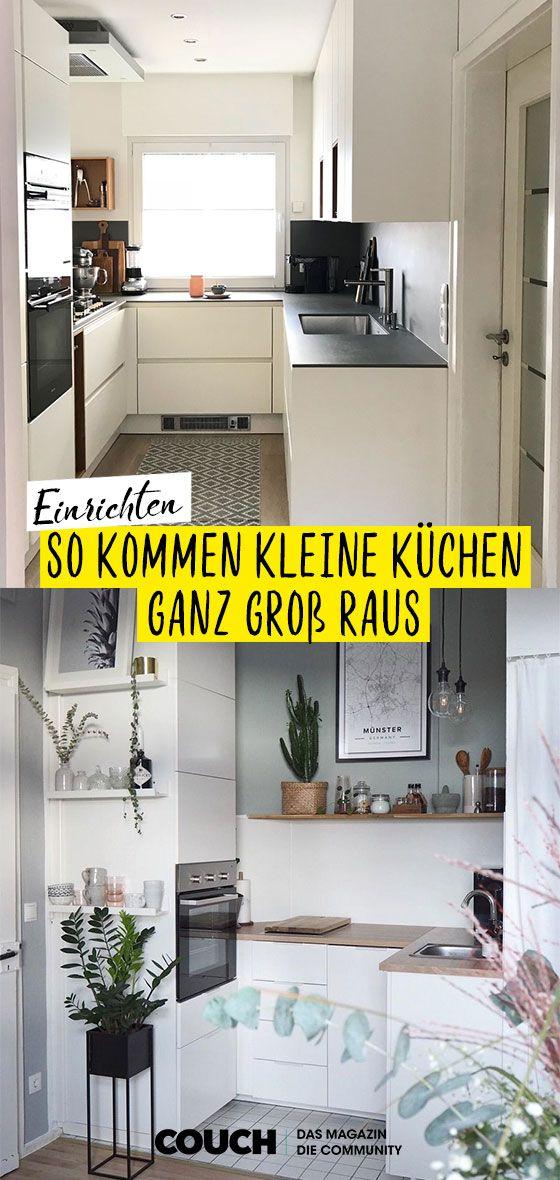 Einrichtungsideen für kleine Küchen #kücheideeneinrichtung
