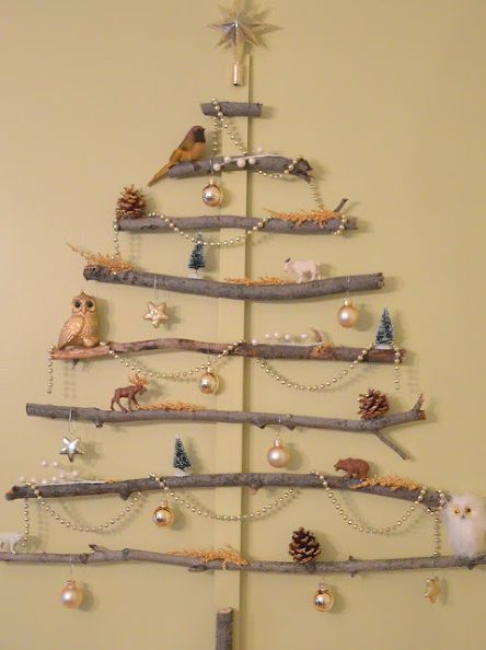 Christmas Tree Wall Art | Christmas | Pinterest | Tree wall art ...