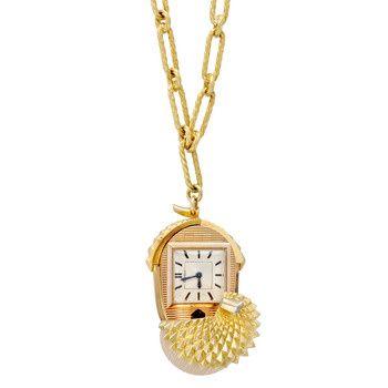 Acorn watch betteridge cartier 18k gold acorn pendant watch acorn watch betteridge cartier 18k gold acorn pendant watch aloadofball Image collections