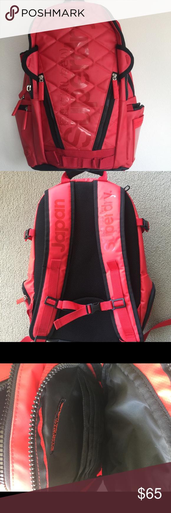 SuperDry waterproof bagpack Waterproof; Japan imported; in