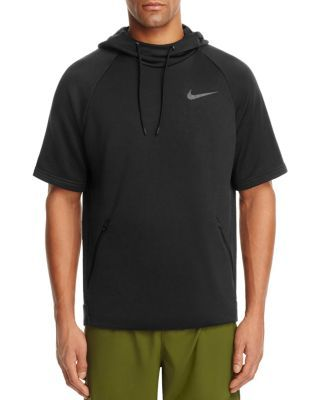 NIKE Hyper Fleece Short Sleeve Hoodie Sweatshirt. #nike #cloth ...