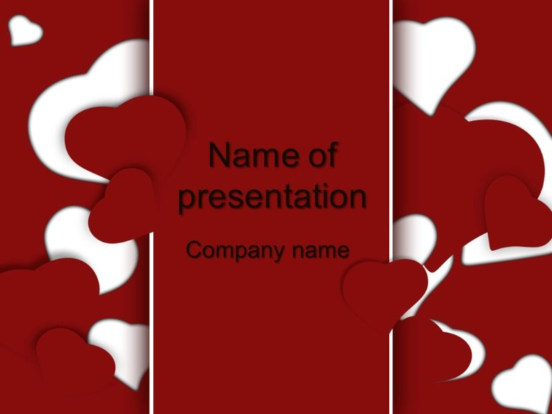 Free Love Powerpoint Template Presentation Best Templates