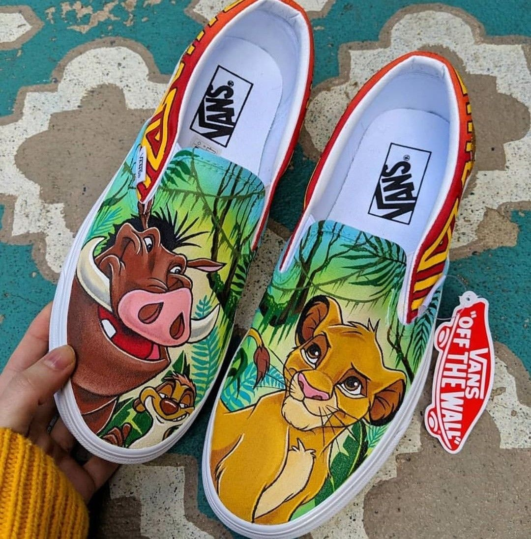 Pin by Kiera Donnelly on shoes in 2020 | Disney painted