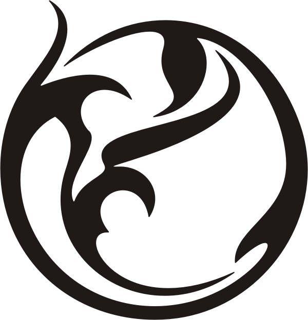 e7c636950 Circle Tribal Tattoo Design | CIRCLE DESIGNS | Circle tattoo design ...