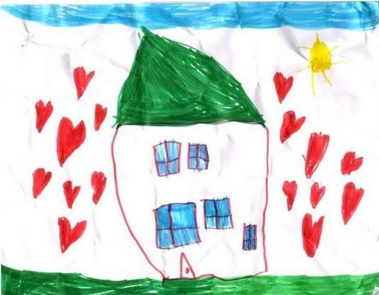 home by child - Children Drawing Pictures For Painting