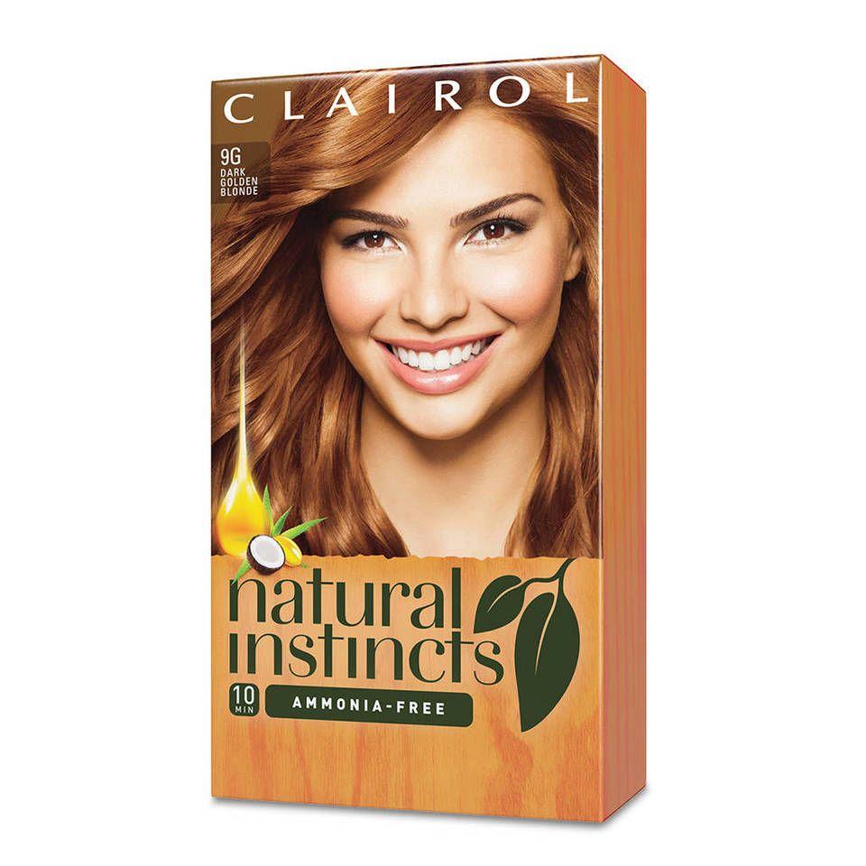 Clairol Natural Instincts Demi Permanent Hair Color Crème 4 Dark Brown, 1 Application   Walmart.com Gallery