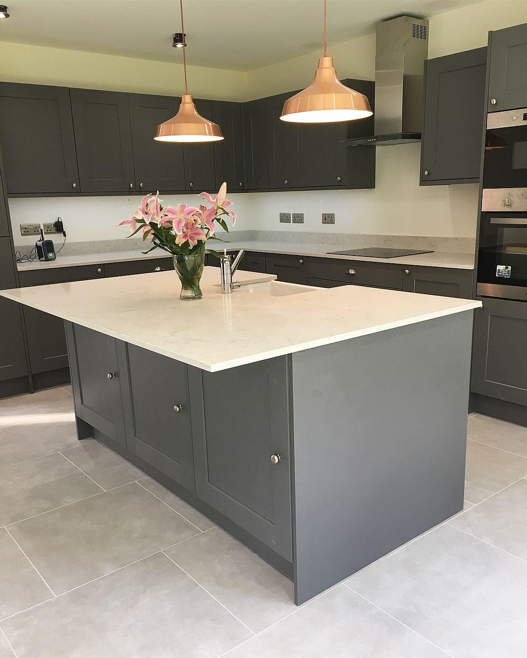 Howdens Grey kitchen designs, Kitchen design, Beautiful
